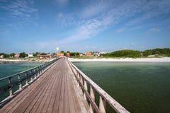 Długi jetty Zdjęcie Royalty Free