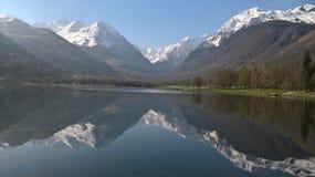 Długi jezioro Fotografia Royalty Free