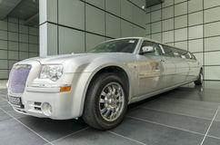 Długi luksusowy samochód Zdjęcie Royalty Free