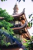 D?ugi syn pagodowy Nha Trang Wietnam zdjęcia stock
