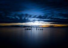 Długi Ujawnienie jezioro Champlain Zdjęcie Royalty Free