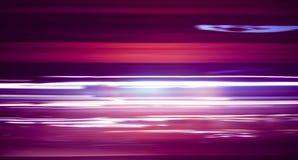 Długi ujawnienie nocy ruch drogowy Obraz Royalty Free