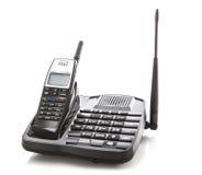 Długiego pasma cordless telefon Fotografia Stock
