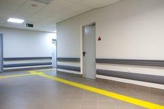 długo korytarza do szpitala Obrazy Stock