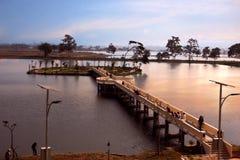długo most Zdjęcia Royalty Free