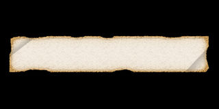 długo ubrania stary papier perchament Fotografia Stock