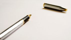 długopis. Zdjęcia Royalty Free