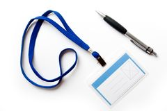 długopis odznaki Obrazy Stock