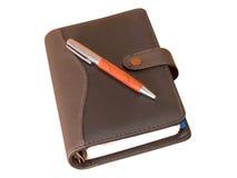 długopis organizatora Fotografia Royalty Free