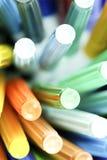 długopisy kolorów, Zdjęcie Stock