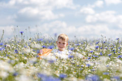 D'un petit promenades garçon Photographie stock libre de droits