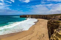 D'une manière fantastique Côte Pacifique images stock