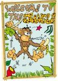 dżungla target989_0_ Obrazy Stock