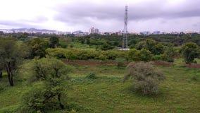 Dżungla widoku pogoda Zdjęcia Royalty Free