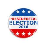 3d usa vote button Stock Photography
