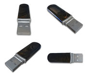 3D USB Memory Stick icon. 3D Icon Design Series. Royalty Free Stock Photography