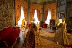 D'USSE, FRANCE - 27 AUGUST 2015: Royal castle of d'Usse, Loire V Stock Photo