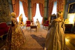 D'USSE, FRANCE - 27 AUGUST 2015: Royal castle of d'Usse, Loire V Royalty Free Stock Image