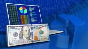 3d van computer Stock Afbeelding