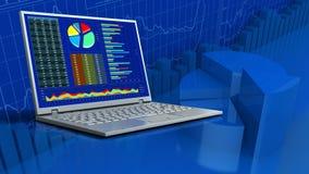 3d van computer Stock Fotografie