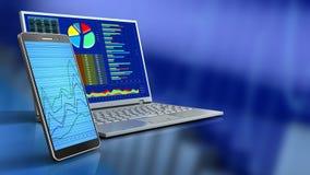 3d van computer Stock Foto