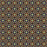 3d van de de stersymmetrie van de regenboogstraal naadloze patroon vector illustratie