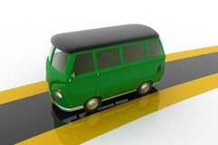3d Van Stock Photo