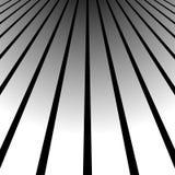 3d vanishing, converging lines. Spatial space, zoom lines, persp Stock Image