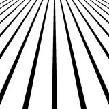 3d vanishing, converging lines. Spatial space, zoom lines, persp Stock Photography