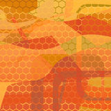 Vector abstract background, honeycomb Royalty Free Stock Images