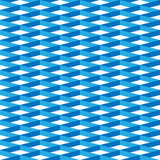 3D vector abstract seamless pattern. Blue grid.  Stock Images