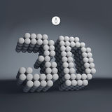 3d vector illustration. Can Be Used For Presentations And Design Stock Photos