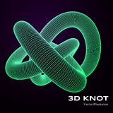 3d vector knot Stock Photography