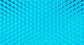 3D vector polygonal triangular shape pattern background. 3D vector polygonal geometric triangular shape pattern background in blue glass material Royalty Free Stock Images