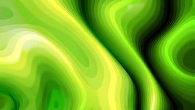3d verde y amarillo curvó las líneas textura libre illustration