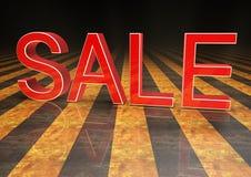 3d verkoop Royalty-vrije Stock Fotografie