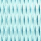 3d vertical relief pattern over wall. Square abstract digital background, vertical relief pattern over wall. Blue toned 3d render illustration Royalty Free Stock Photography