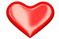 3d vervollkommnen Herz Lizenzfreies Stockbild