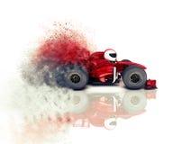 3D verzendende raceauto Royalty-vrije Stock Fotografie