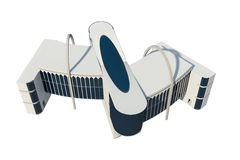 3d view of commercial building Stock Photo