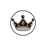 3d vintage crown, luxury coronet illustration. Classic imperial. And VIP symbol, for use in advertising and design Stock Photo