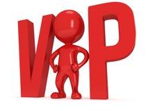 3d VIP人 库存图片