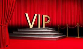 3d VIP geven symbool terug stock afbeelding