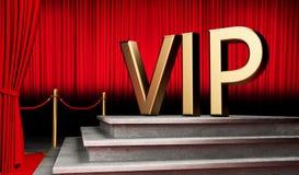 3d VIP geven symbool terug Stock Illustratie