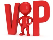 3d VIP man Royalty Free Stock Photos