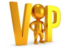 3d VIP man Royalty Free Stock Photo