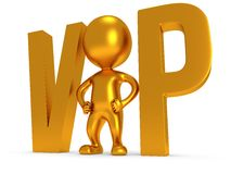 3d VIP man Royalty Free Stock Images