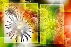 3d virus Stock Foto's