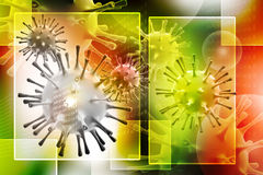 3d virus Stock Photos