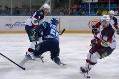 D. Vishnevskiy (55) vs D. Marko (68) Royalty Free Stock Image